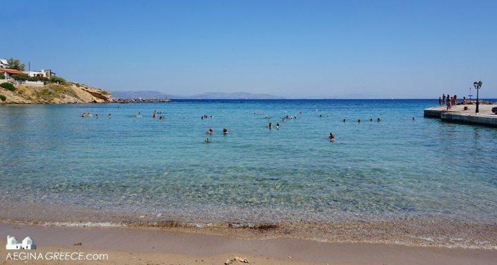 Guide to Aegina Island Souvala Beach