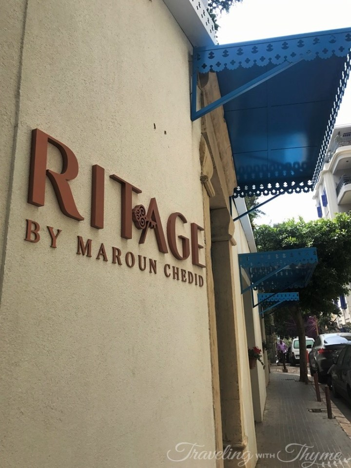 Ritage by Maroun Chedid Restaurant Exterior