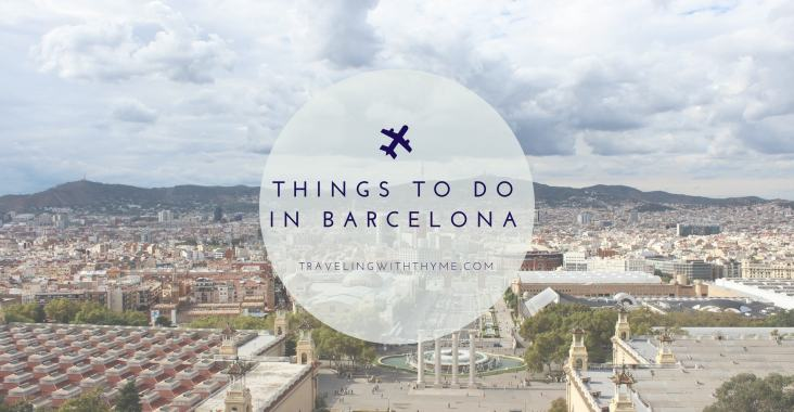 Things to do in Barcelona Travel