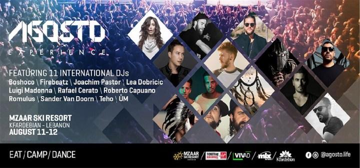 Agosto Experience Event Virgin Ticketing Lebanon