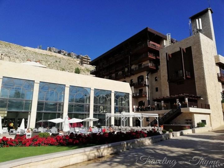 Intercontinental Mzaar Lebanon Hotel Pool Tanning