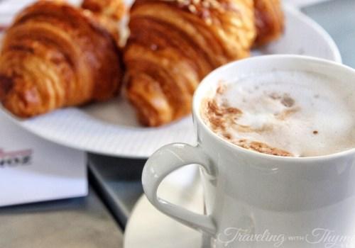 La Petite Table Breakfast Croissant Coffee