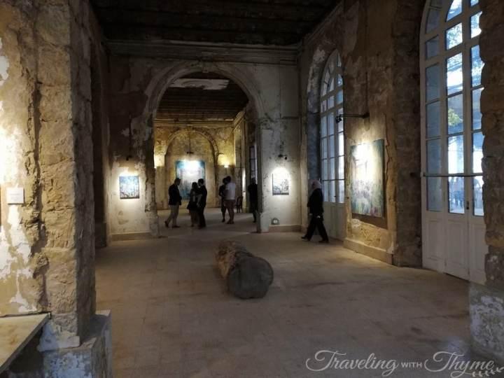 Grand Sofar Hotel Art Exhibition Lebanon