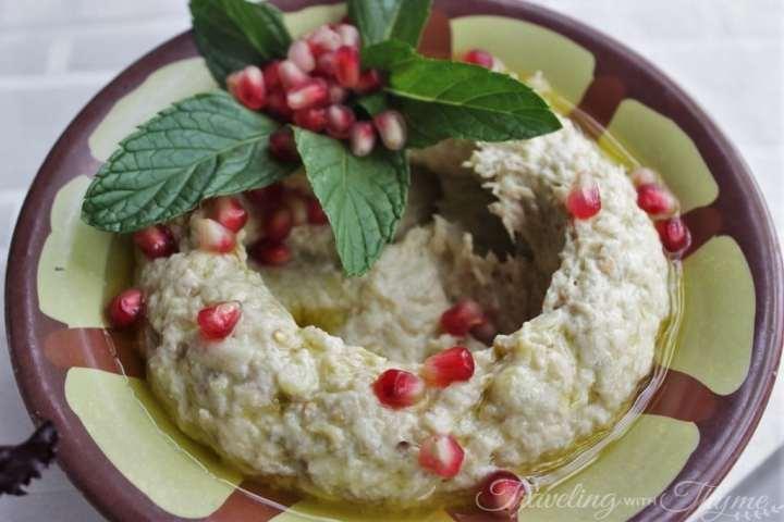 Baytna Barouk Restaurant Lebanese Food Mtabbal