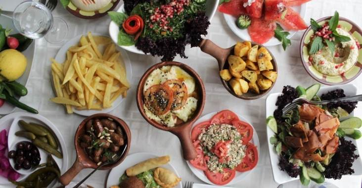 Baytna Barouk Restaurant Lebanese Food Shouf
