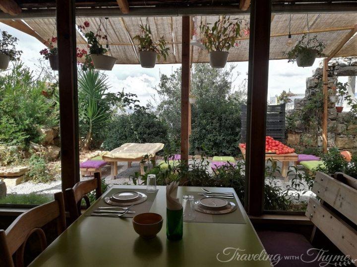 Coara Beiteddine Shouf Lebanon Vegan Restaurant (2)