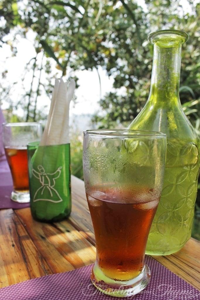 Coara Lebanese Vegan restaurant molasses drink