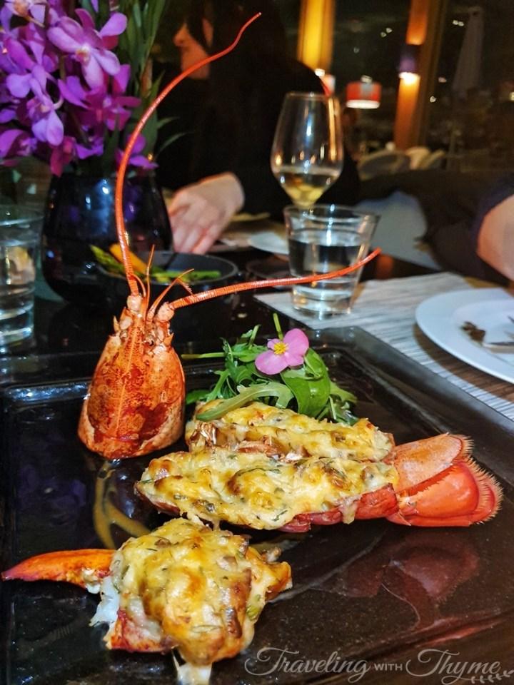 Le Gray Beirut Atlantic Lobster Thermidor