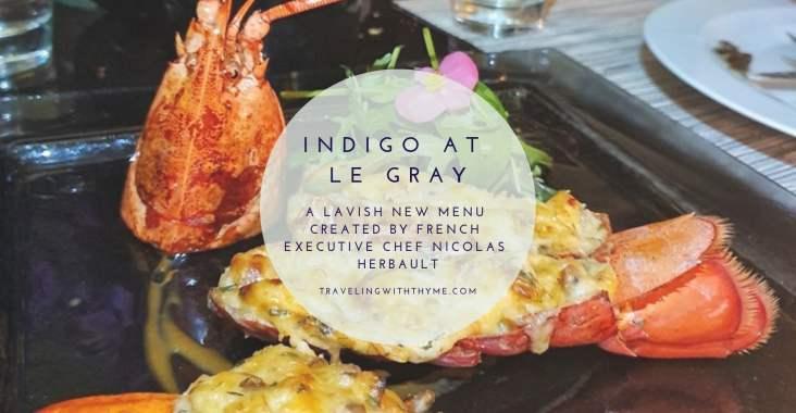Le Gray Indigo Restaurant Beirut Lebanon