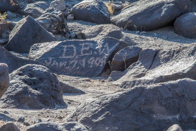 Painted Rock Petroglyph-2819