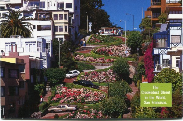 Lombard Street Located In San Francisco Travel Innate