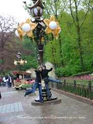 My highschool friends at the themepark Efteling (the Netherlands)