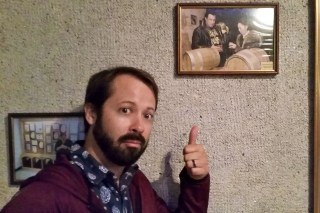 Visiting Moldova and the drinking wine with a Celeb!