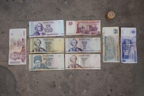 Visting Moldova & Transnistria...worthless money!