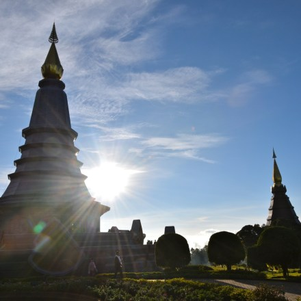 Doi Inthanon is a great stop on the Mae Hong Son Loop