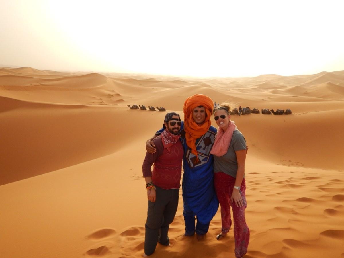 Hiring a Travel Guide in the Sahara Desert