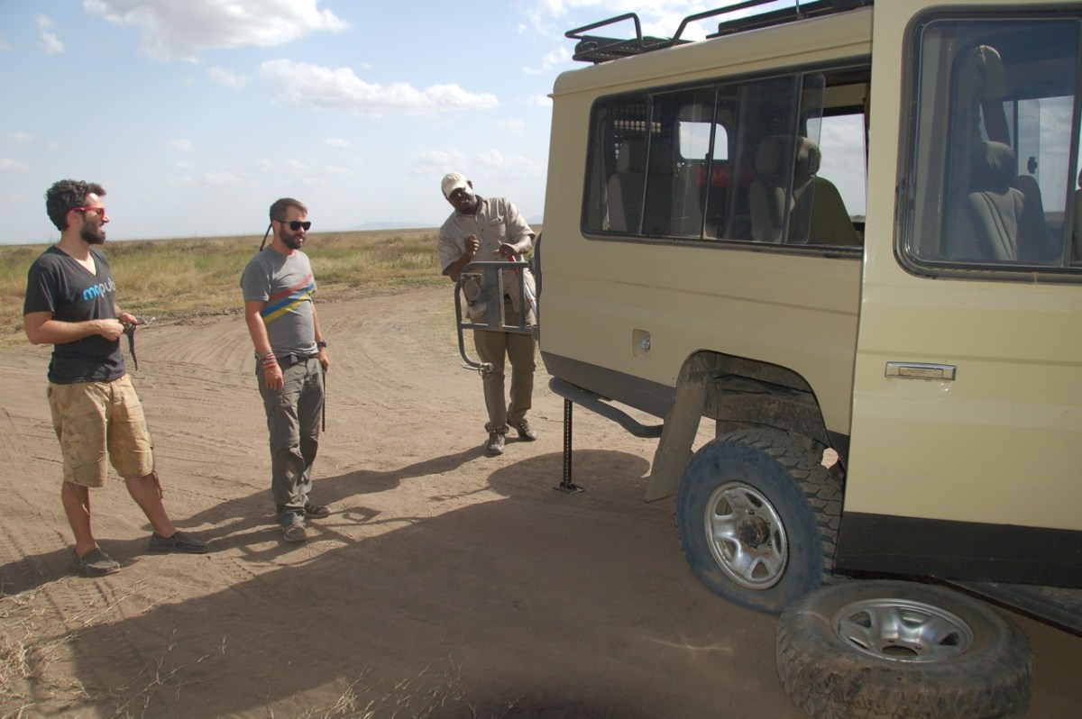 Hiring a Travel Guide on Safari