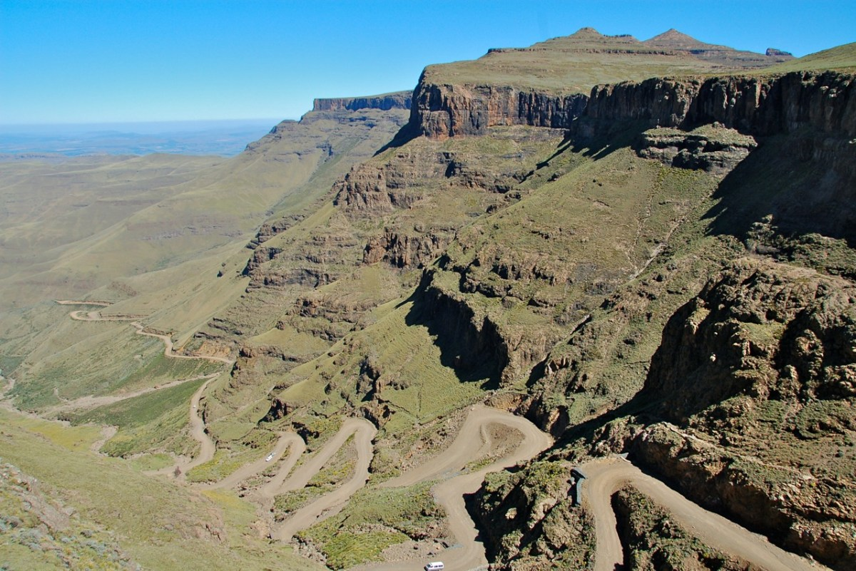 Hiring a Travel Guide at Sani Pass