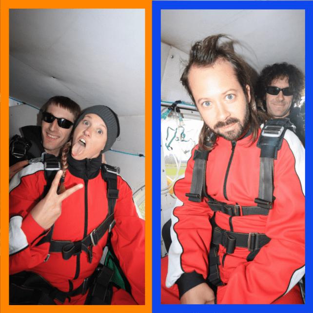 Skydive Franz Josef