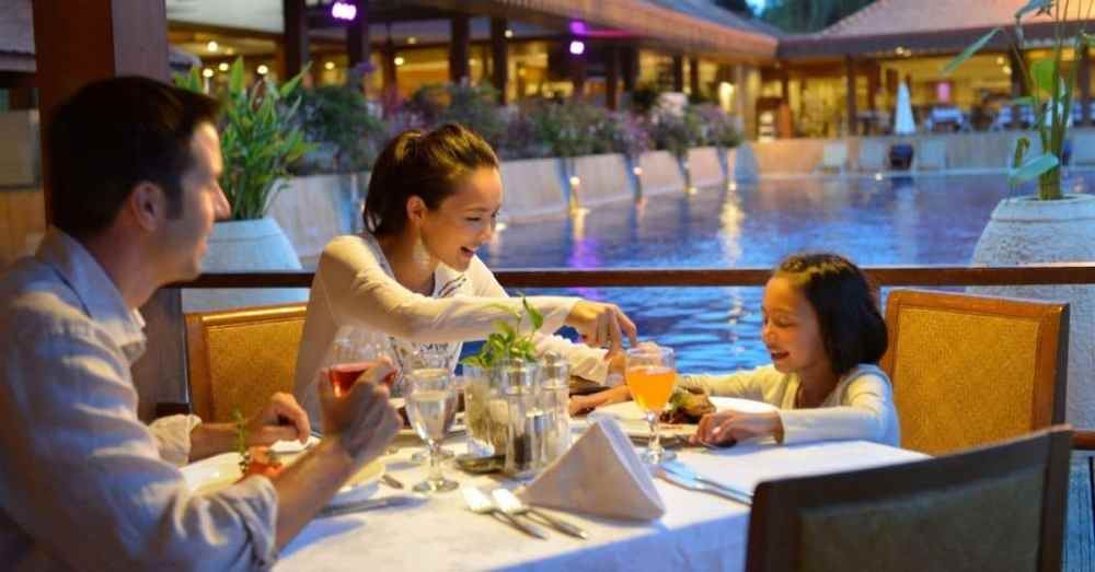 Club Med Cherating Family Meal Time