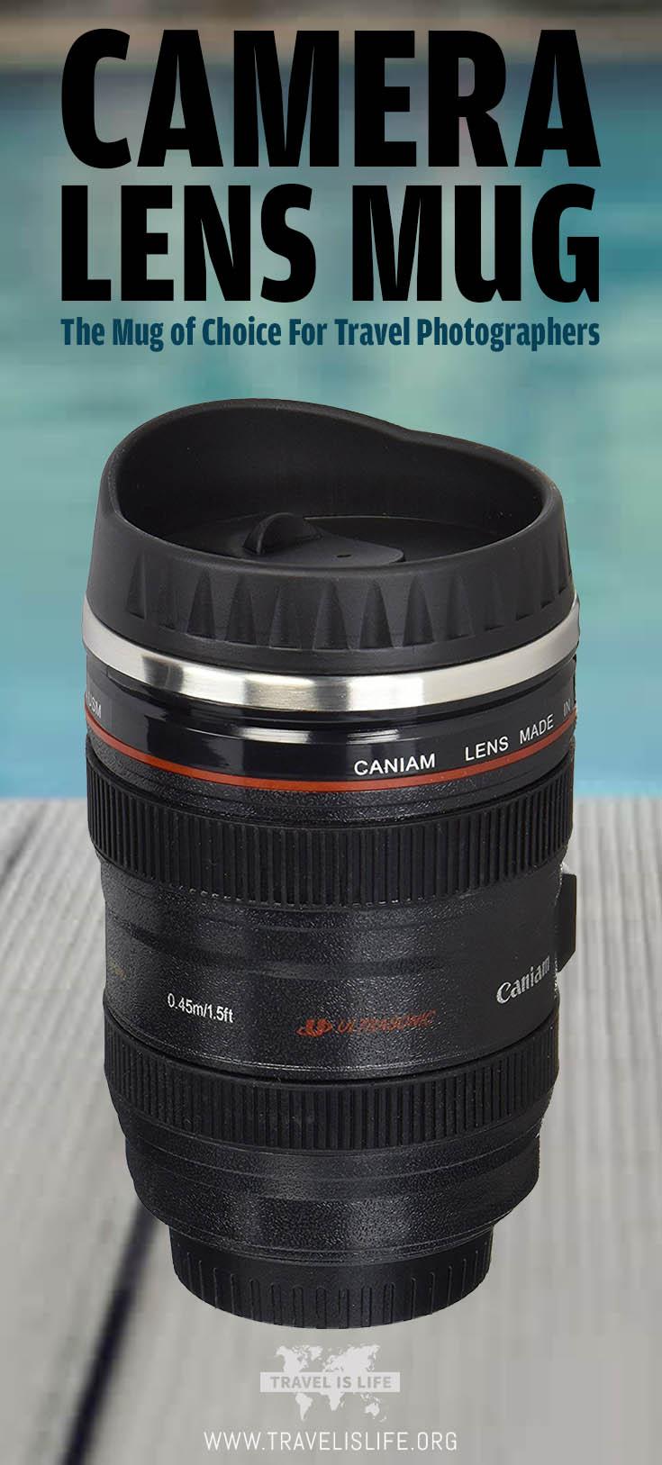Camera Lens Travel Mug  Thermos of Choice for Travel