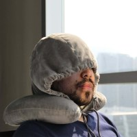 Hooded Airplane Neck Pillow - Travel is Life