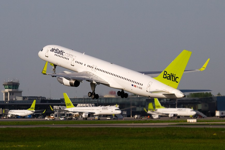 компания Air baltic