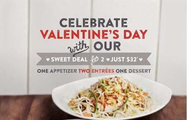 California Pizza Kitchen Valentines