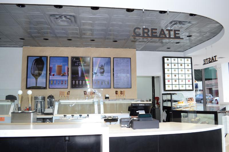 Haagen-Dazs Shops New Design