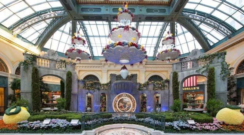 2019 ITALIAN SUMMER DISPLAY - Bellagio's Conservatory West Garden