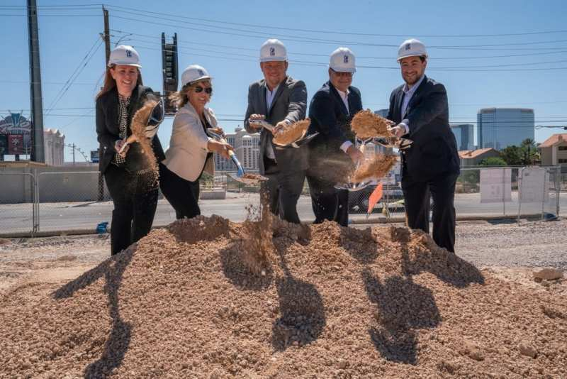 CAI Investments Founder and Clark County Comissioner Alongside Executives Break Ground for Delta Hotels