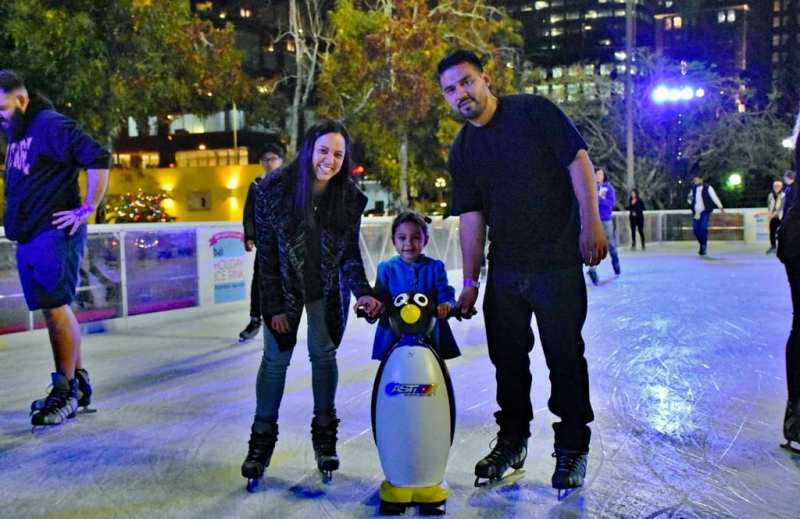 Bai Holiday Ice Rink Pershing Square - ARABIAN NIGHTS
