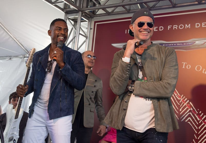 Bill Bellamy and Chad Smith at John Varvatos 11th Annual Stuart House Benefit
