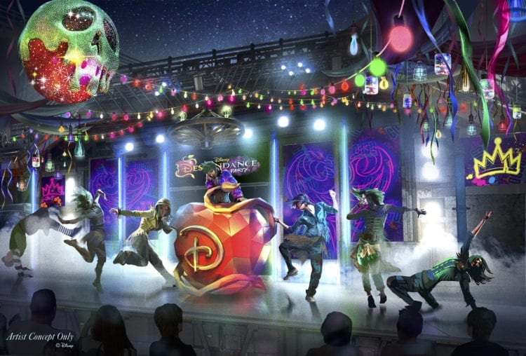 DescenDANCE Party during Oogie Boogie Bash