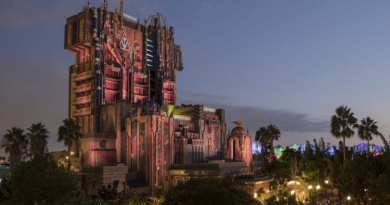 Guardians of the Galaxy–Monsters After Dark! during Halloween Time at Disney California Adventure Park