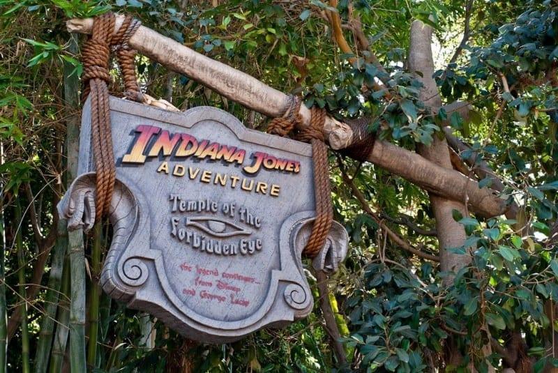 Disneyland Indiana Jones Adventure