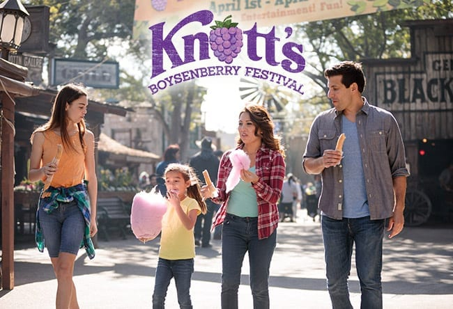 Knott's Berry Farm - Boysenberry Festival