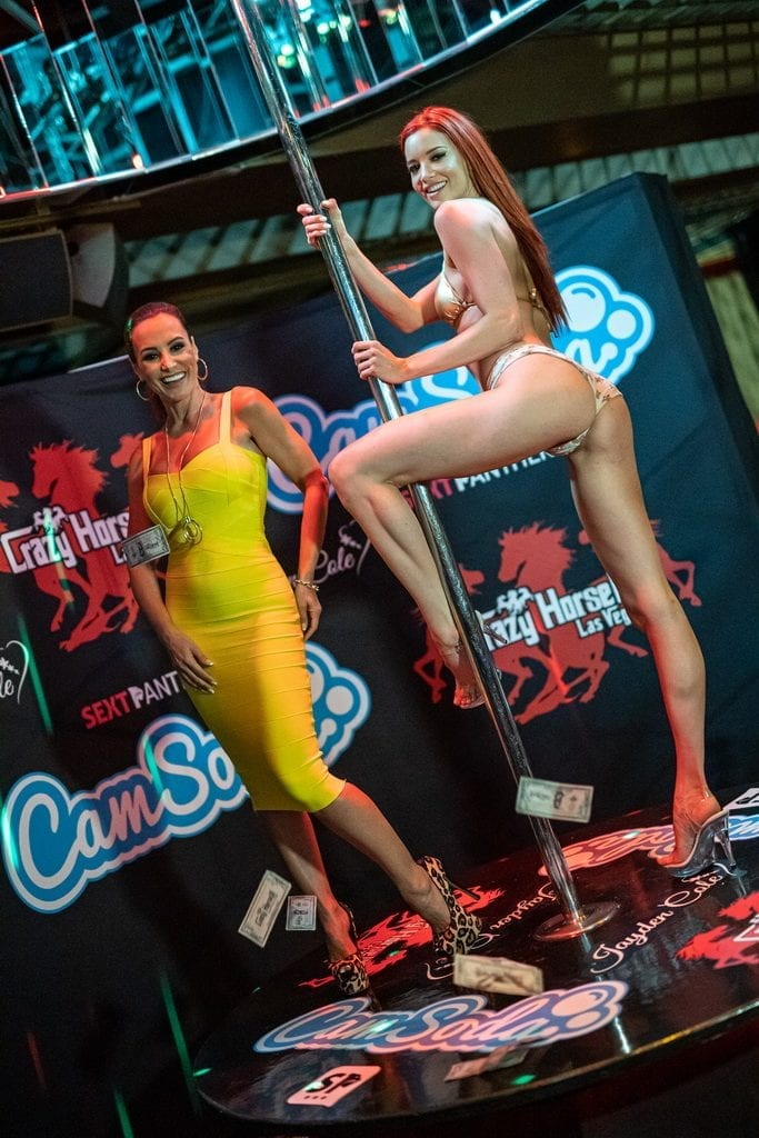 Lisa Ann and Jayden Cole on Stage