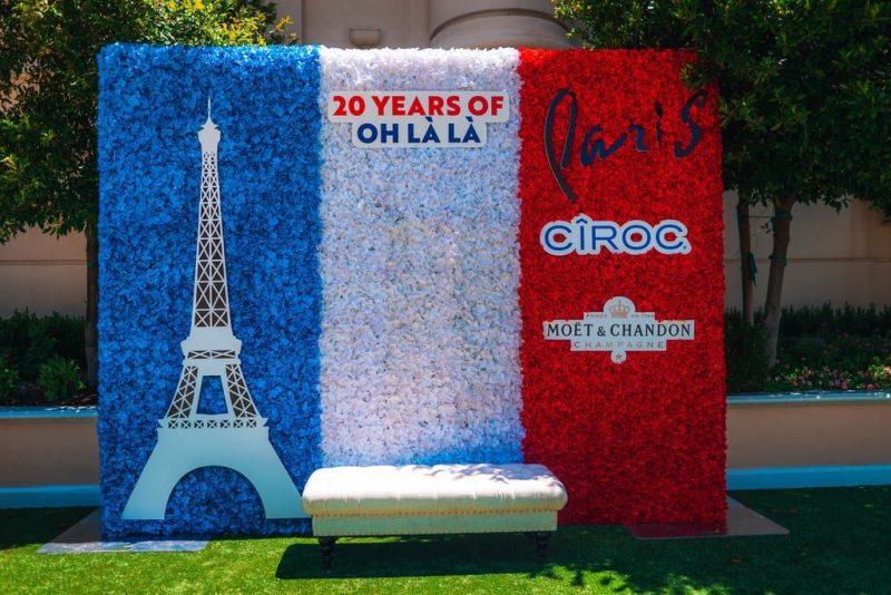 Paris Las Vegas - Anniversary Floral Wall