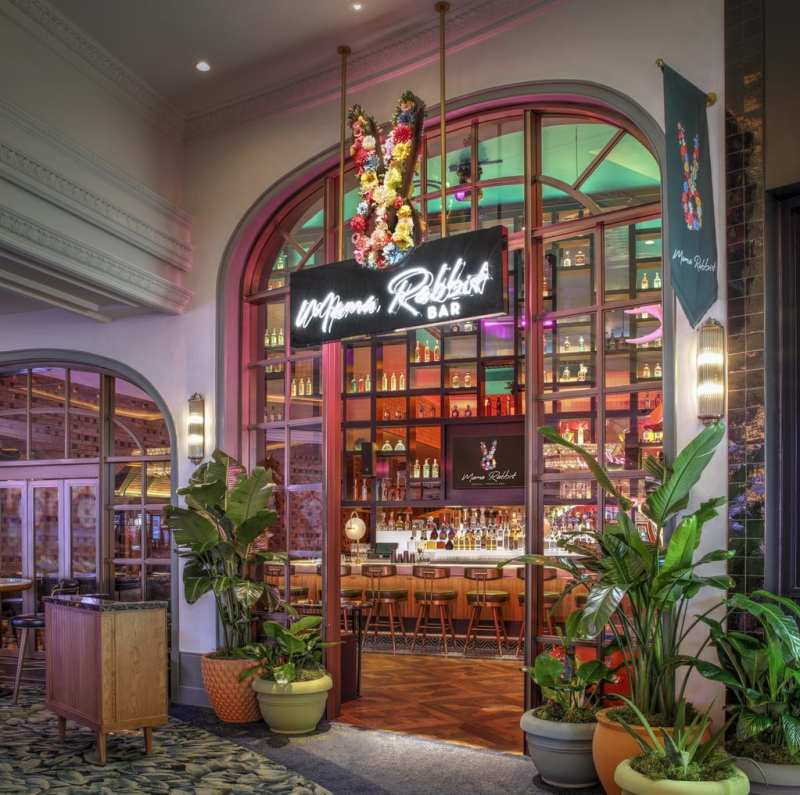 Mama Rabbit Bar at Park MGM in Las Vegas