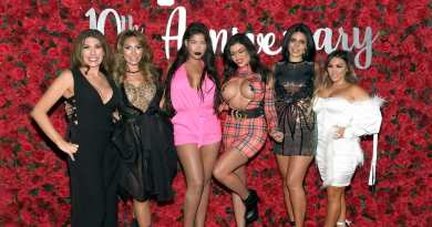 Heather Rohrer, Farrah Abraham, Bridgette B, Toochi Kash, Larissa Lima, and Jen Harley on Crazy Horse 3 Red Carpet