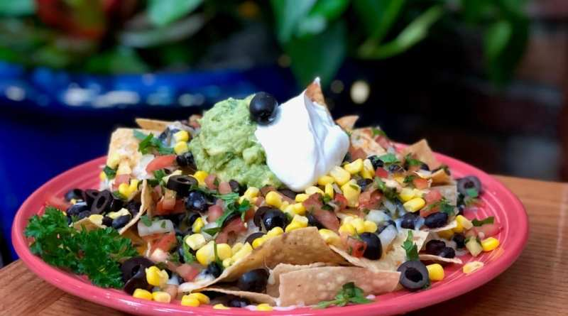 Pancho's Southwest Veggie Nachos