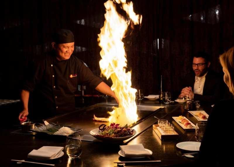 Nobu Restaurant Caesars Palace - Teppanyaki