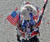 patriotic dog ashland 4th of July parade 2012