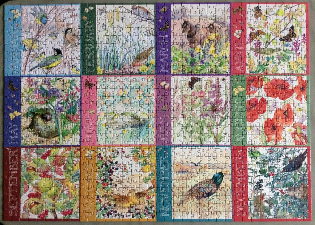 March's Jigsaw: Diary of an Edwardian Lady by WHSmith, 1000 piece - A Christmas gift from last year