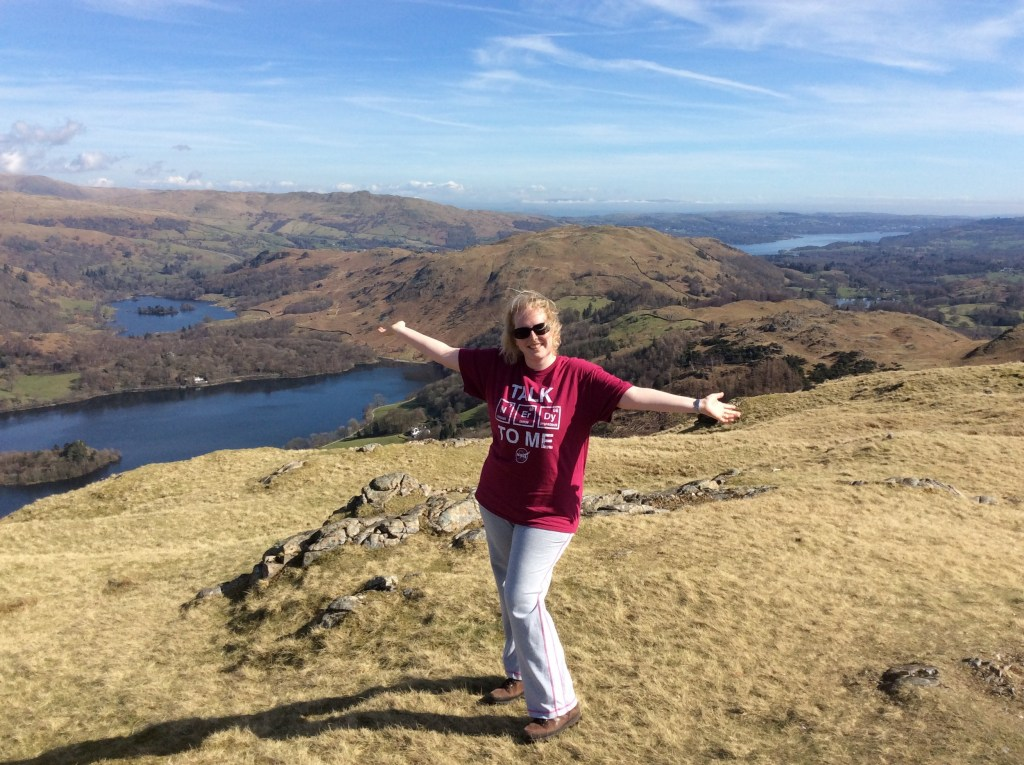 Got to love the Great Outdoors!!! On top of Silver Howe in the English Lake DIstrict