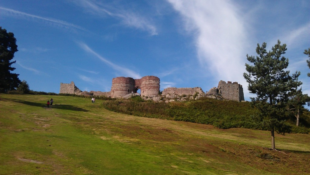 Beeston Castle, Cheshire; from a travel blog by www.traveljunkiegirl.com