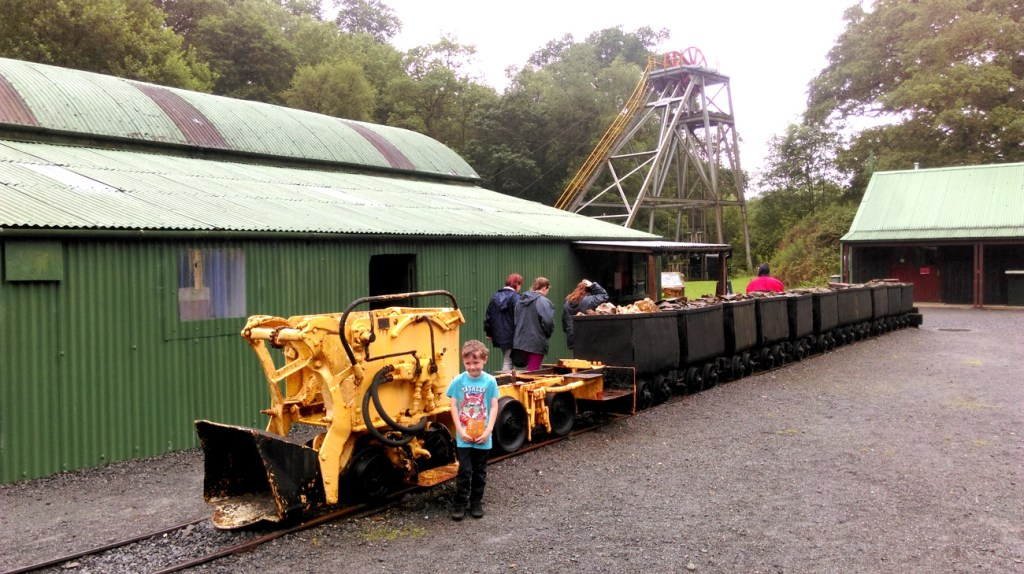 The line of drams at Dolaucothi Gold Mine, Carmarthenshire; from a travel blog by www.traveljunkiegirl.com