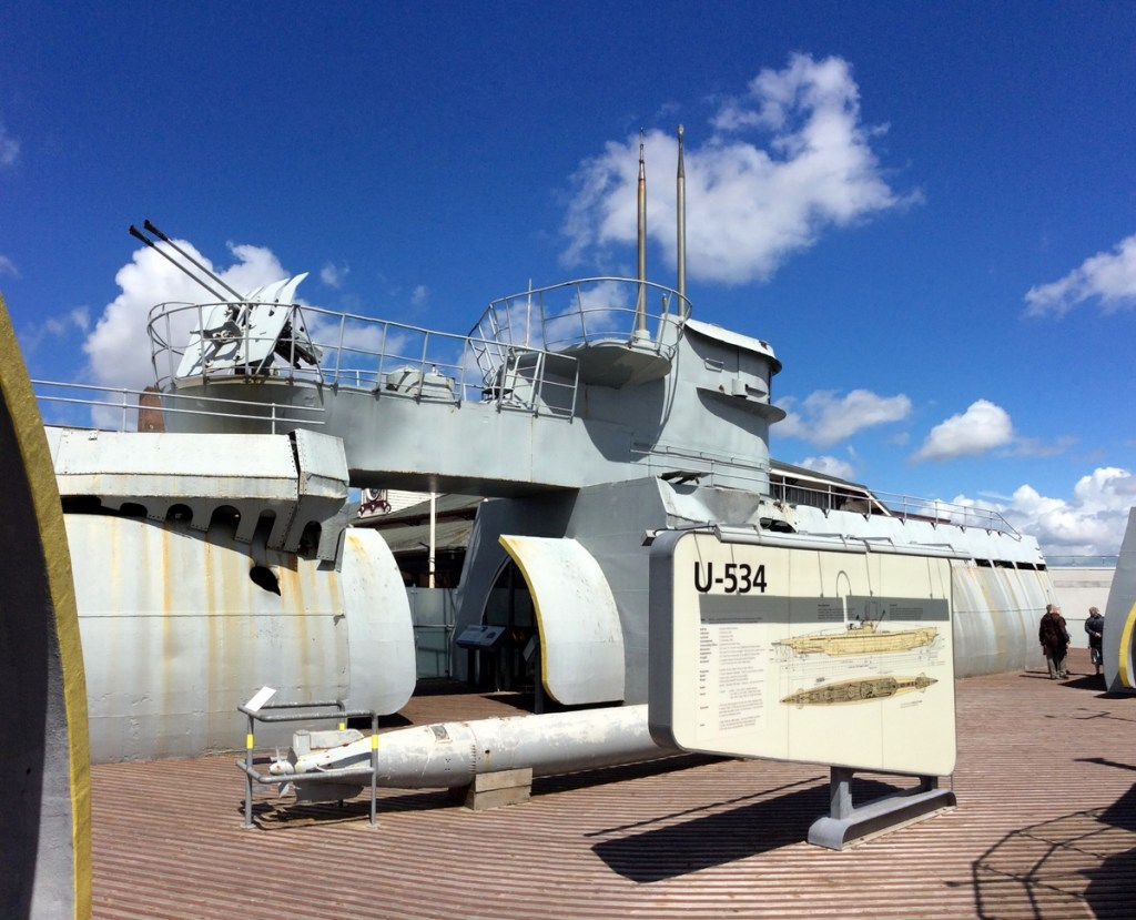 See a U-boat up close and personal at The U-boat Story, Wirral; from a travel blog by www.traveljunkiegirl.com