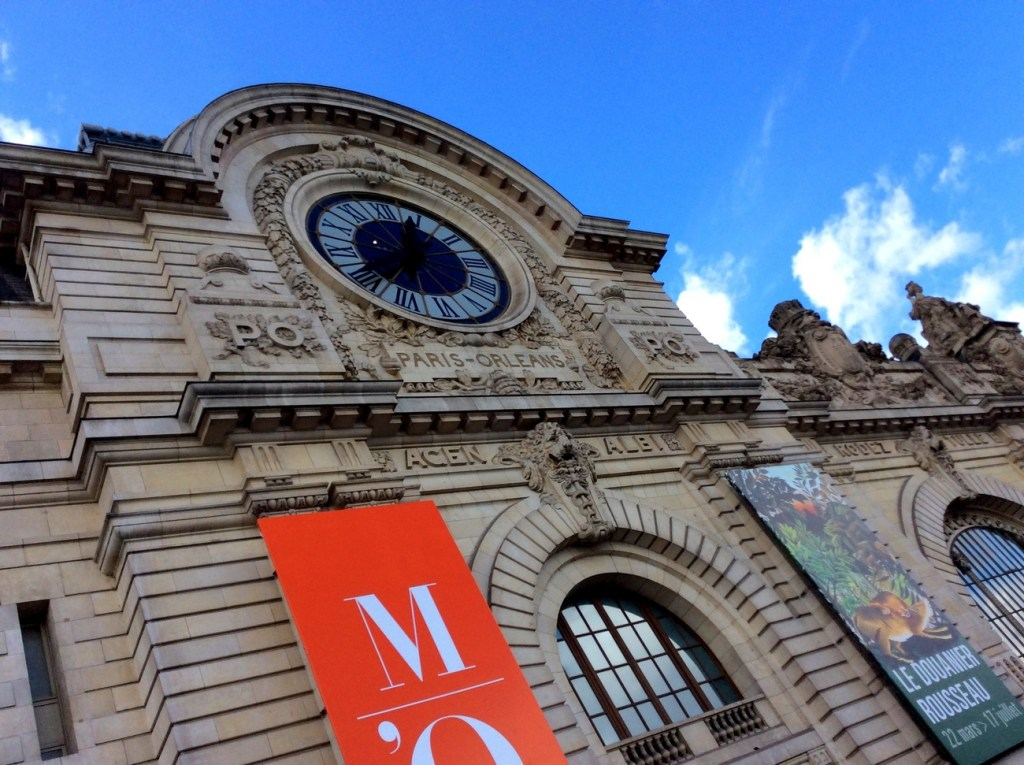 Exterior of the Musée d'Orsay, Paris; from a travel blog by www.traveljunkiegirl.com